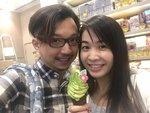 2018-01-19 @ TST, but the green tea icecream not very good