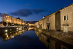 Otaru Canal at night