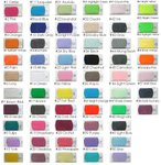 Main colour chart - chiffon