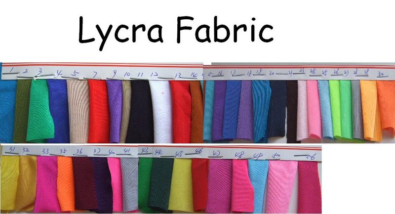 Lycra Fabric Sample  Color Me Right    Fabric Samples