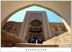 Mokhammad Amin Khan Madrassah (a hotel)