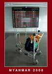 at Mandalay airport