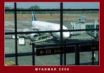 Yangon boarding gate