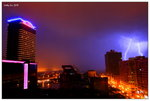 Lightnings - view from hotel room