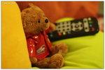 2008.6.28 michael bear on my sofa