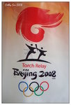 2008.5.1 Olympic Series: Torch Relay Flag