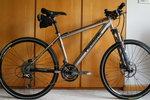 My Panasonic Titnium Hardtail Bike