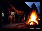 fire festival at aso shrine 阿蘇神社(火振神事)