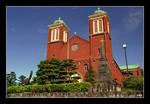urakami cathedral in nagasaki  長崎浦上天主堂