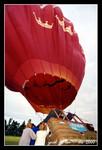 hot-air balloon in christchurch
