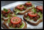 tasty swedish meatball sandwiches