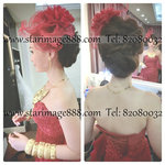 bridal make up hair style hk