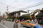 Walk along the Shanghai Old Street