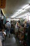 Inside an antique market