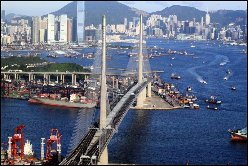 Hong Kong - Dam, Stonecutters Bridge and Tai Po Waterfront  IMG_3666