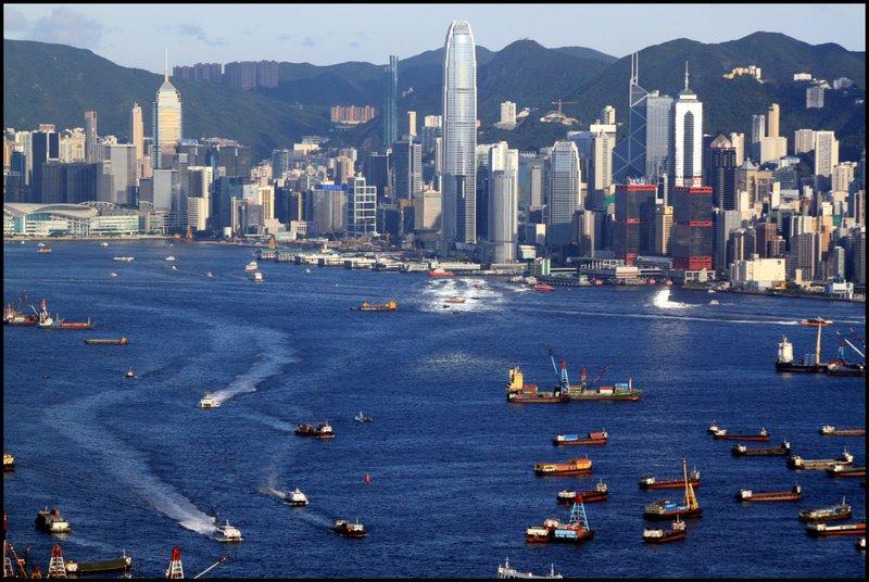 Hong Kong - Dam, Stonecutters Bridge and Tai Po Waterfront  IMG_3667