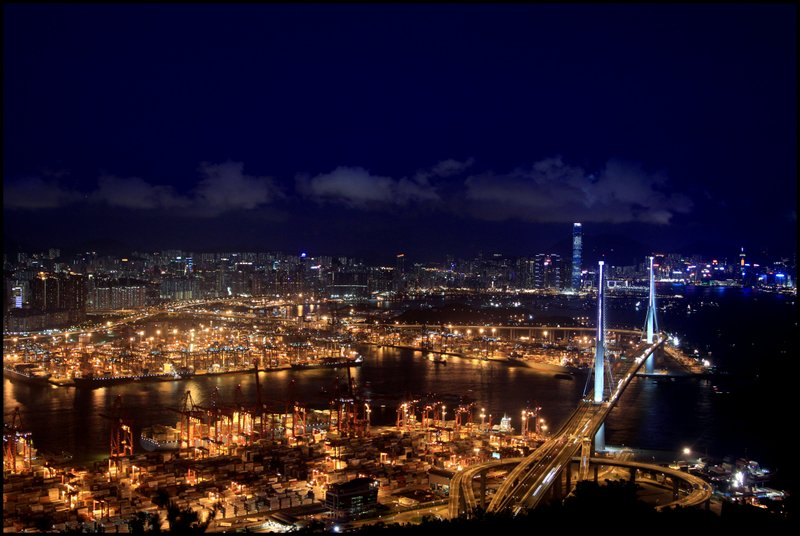 Hong Kong - Dam, Stonecutters Bridge and Tai Po Waterfront  IMG_3771