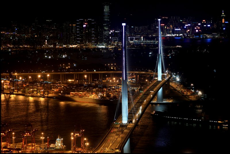 Hong Kong - Dam, Stonecutters Bridge and Tai Po Waterfront  IMG_3791