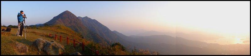 Star Trail & Sunrise DSC03374