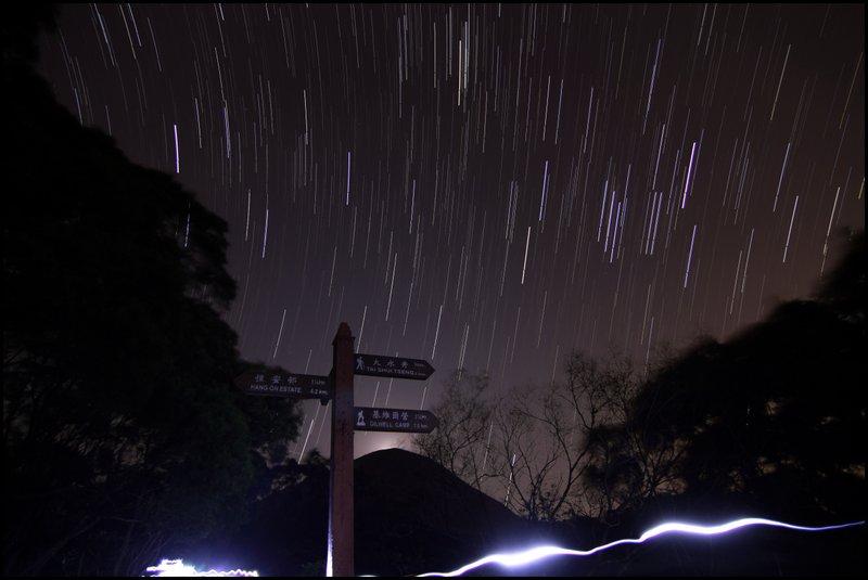 Star Trail & Sunrise Startrails1