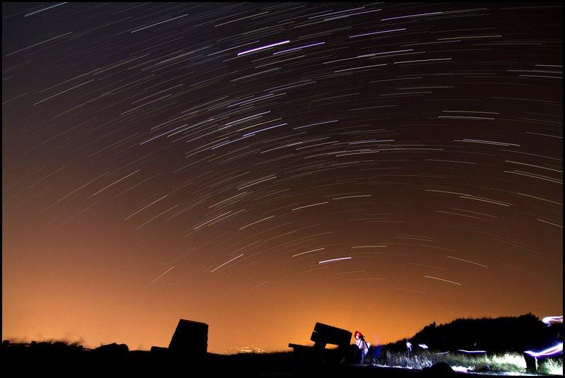Star Trail & Sunrise Startrails3