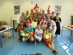 We are delighted one of our teachers(Mei Chan ) to have an ivcitation to go to Holland,Belgium & budapest to teach a balloon course,where the locals love the balloons for the whole class. Nice to meet everyone