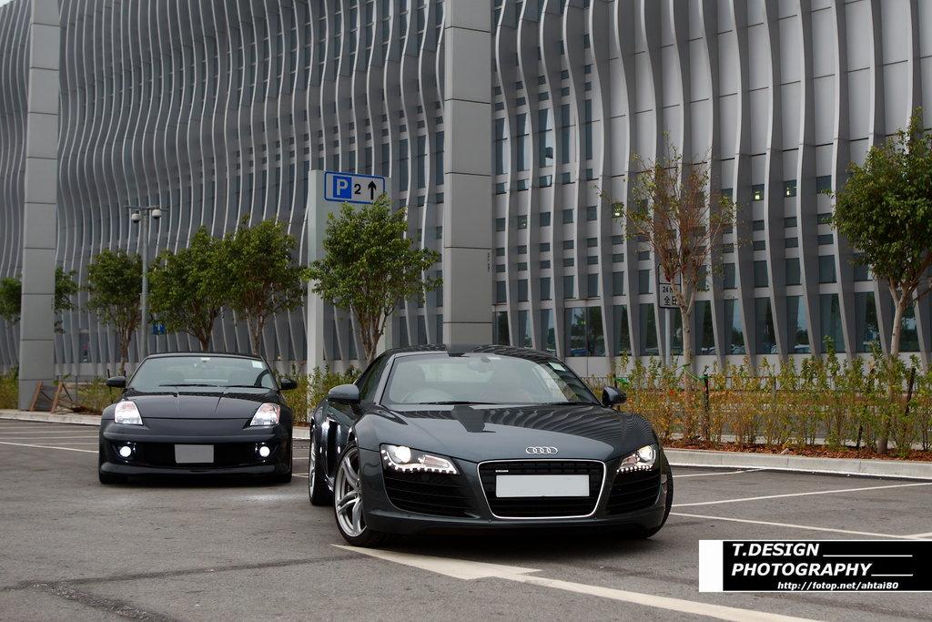 Impul 933s Vs Audi R8 T Design Photography My350z