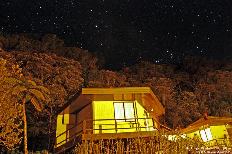 Hill Lodge 的星夜