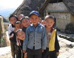 Cheerful Boys in Yuanyang, Yunnan