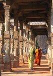 Inside the Qutb Minar, New Delhi