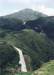 """""""Road to the Peak"""" on the way up Kwun Yam Shan 觀音山, 17/6/2001"""