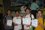 A shot with Simon(left), my team leader in Trailwalker 2000, and his colleagues.