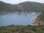 You can see Long Ke Wan became a Typhoon shelter,   because of the couple days of public hoilday
