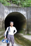 Water tunnel at the start of Nam Chung 南涌