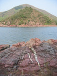 Double Island 往灣洲 and red rock