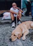 """Team leader and his dog 隊長與狗"", finish, 9/11/2002"