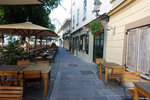 This nice place was next to the river in the old town and was where we stayed in Ljubljana