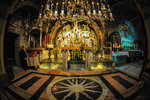 Station XII - Jesus dies on the cross. Now a Greek Orthodox Chapel, is where Jesus was crucified.