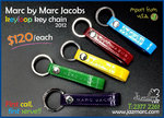 �i= Jazmarc Kiosk =�jMarc by Marc Jacobs Keyloop Key Chain - SOLD OUT!!