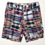 #N896496 | Old Navy Kids Plaid Patchwork Short Pants - $190.00
