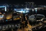 Marina Bay Sands, Esplanade & Singapore Flyer ���F�s��,�خ����N���ߩM�����[���
