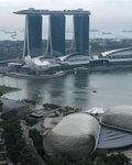 Marina Bay Sands & Esplanade ���F�s���M�خ����N����