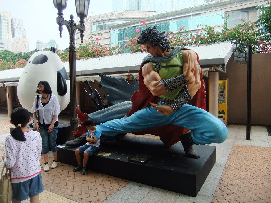 步驚雲 @ 香港漫畫星光大道 @ 香港漫畫星光大道 (Hong Kong Avenue of Comic Stars)