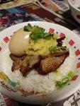 日式薑蓉太陽蛋燒肉飯
