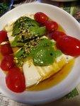 牛油果豆腐冷盤