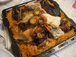 燒雞焗意粉