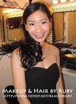 Banquet Makeup & Hair Styling