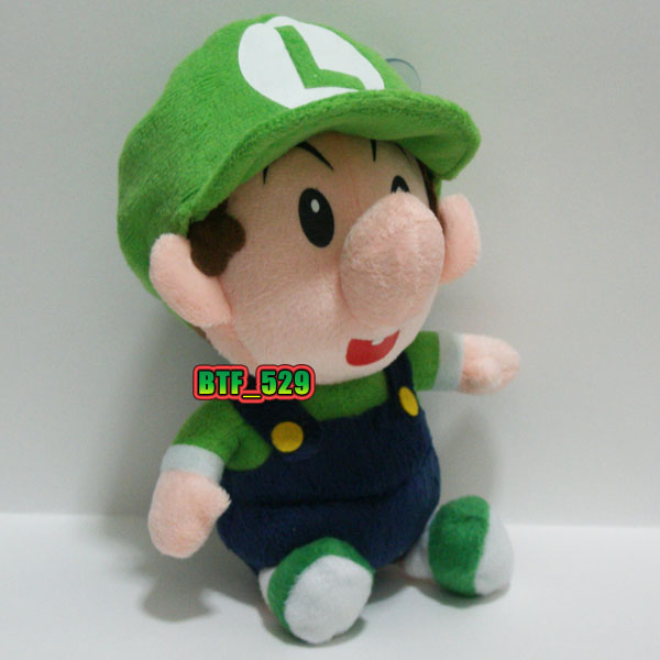 "Plush 7""1/2 Baby Luigi and Baby Waluigi - New Super Mario ..."