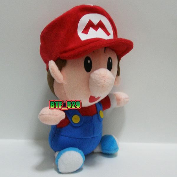 Plush 7 1 2 Baby Mario New Super Mario Brothers Plush Doll ...