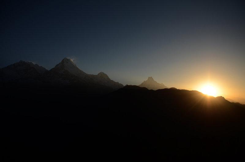 Poon Hill Nepal Sunrise